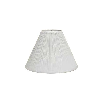 21 Spider Linen Empire Lamp Shade Color: White