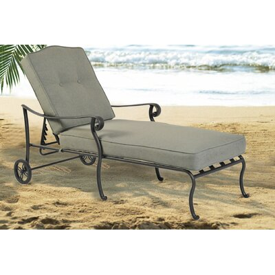 Leonie Chaise Lounge with Cushion