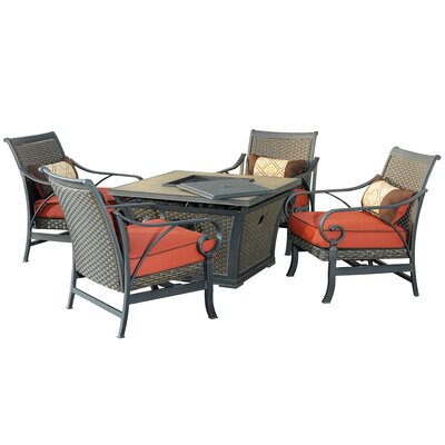 Jane 5 Piece Deep Seating Group