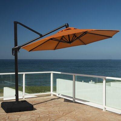 10 Cantilever Umbrella Fabric: Tikka Orange