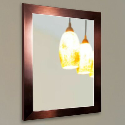 Copper Bronze Wall Mirror