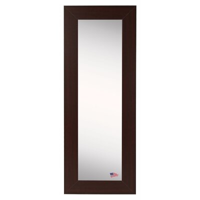 Dark Mahogany Slender Body Mirror