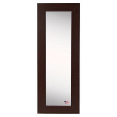 Dark Mahogany Slender Body Mirror