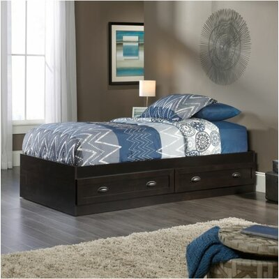 Rossford Twin Platform Bed Finish: Estate Black