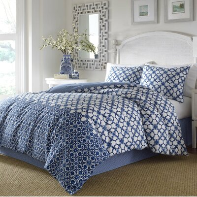 Mary 3 Piece Duvet Cover Set Size: Full/Queen