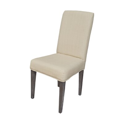 Preston Parson Chair Slipcover Color: Light Cream