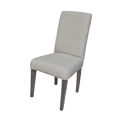 Preston Parson Chair Slipcover Color: Light Grey