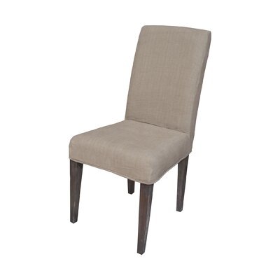 Preston Parson Chair Slipcover Color: Light Brown