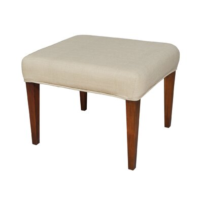 Preston Single Bench Cover Color: Light Cream