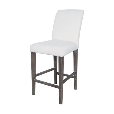 Preston Bar Stool Finish: Heritage Stain / White Wash