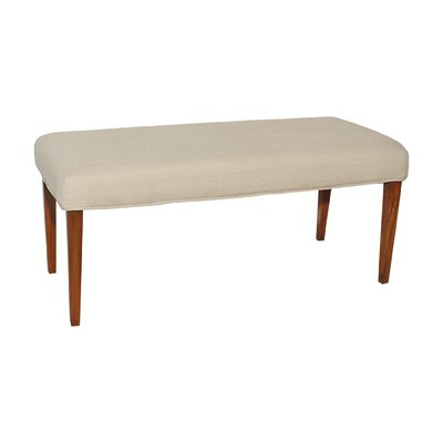 Preston Double Bench Cover Color: Light Cream