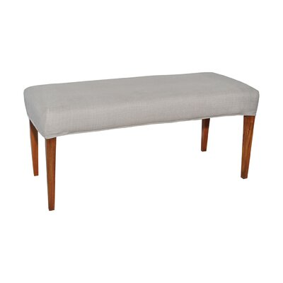 Preston Double Bench Cover Color: Light Gray
