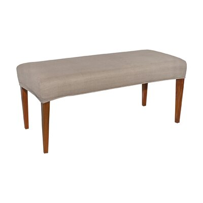 Preston Double Bench Cover Color: Light Brown
