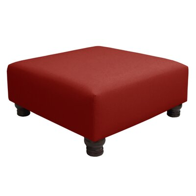 Otterville Cocktail Ottoman Upholstery Color: Antique Red