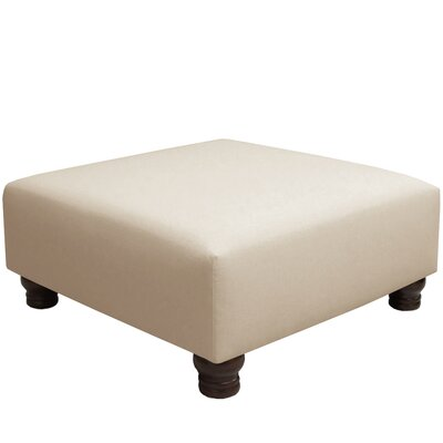 Otterville Cocktail Ottoman Upholstery Color: Talc