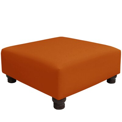 Otterville Cocktail Ottoman Upholstery Color: Patriot Tangerine