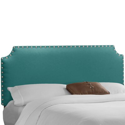 Adelia Upholstered Panel Headboard Size: King, Upholstery: Premier Navy