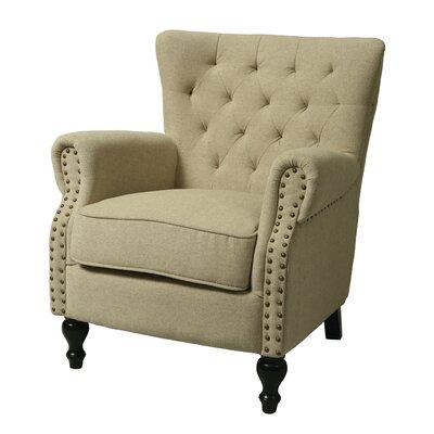 Rockwood Arm Chair Color: Cream