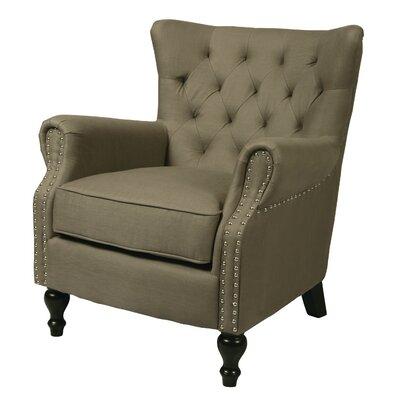 Rockwood Armchair Upholstery: Gray