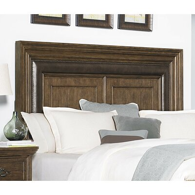 Camelot Upholstered Panel Headboard Size: King