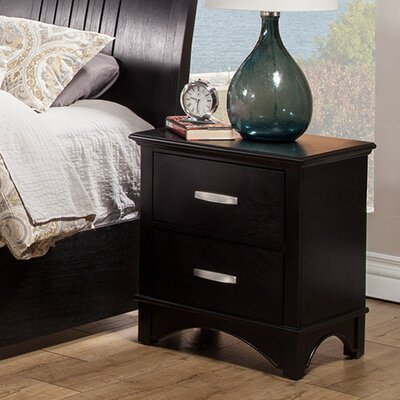 Dimas 2 Drawer Nightstand