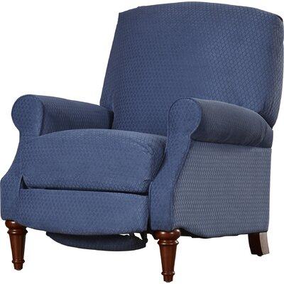 Bayrick Manual Recliner Upholstery: Blue