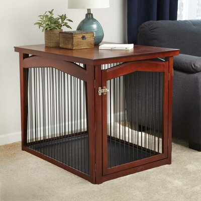 Aggie 2-in-1 Configurable Pet Crate & Gate Size: Large (31.5 H x 28 W x 40 L)