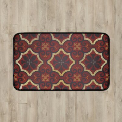 Larson Chef Tile Kitchen Mat Rug Size: 2 x 3