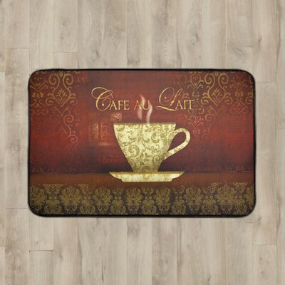 Larson Cafe Lait Kitchen Mat