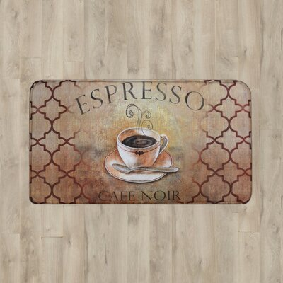 Larson Espresso Kitchen Mat