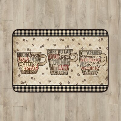 Larson Kitchen Mat Mat Size: Rectangle 16 x 26