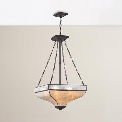 3-Light Inverted Pendant Bulb Type: 60W Incandescent