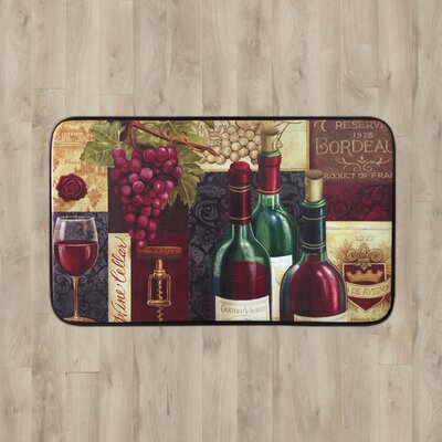Larson Kitchen Mat Mat Size: Rectangle 2 x 3