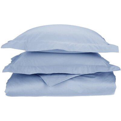 Amherst Pillow Case Color: Light Blue, Size: King