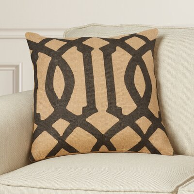 Finn Burlap Throw Pillow