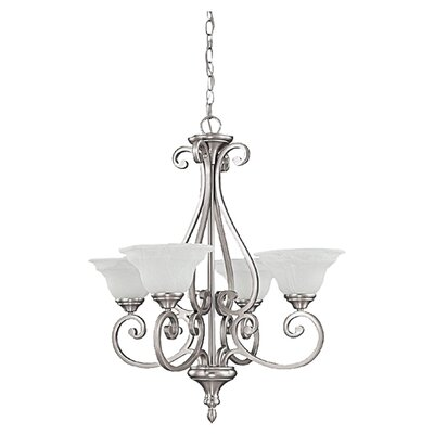 Knapp 4-Light Shaded Chandelier