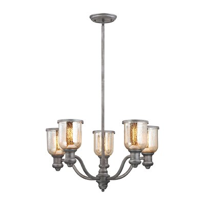 Claflin 5-Light Candle-Style Chandelier
