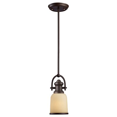 Claflin 1-Light Mini Pendant Finish: Oiled Bronze