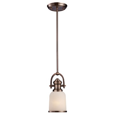 Claflin 1-Light Mini Pendant Finish: Antique Copper