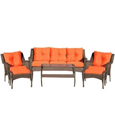 Herrin Wicker Seating Group 286 Item Photo