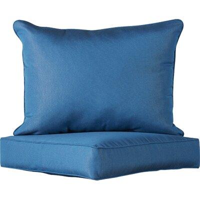 2 Piece Indoor/Outdoor Sunbrella Chair Cushion Set