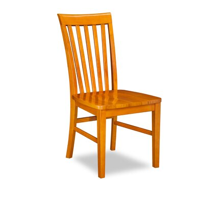 Oliver Solid Wood Dining Chair Finish: Caramel Latte