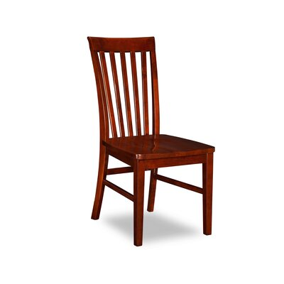 Oliver Solid Wood Dining Chair Finish: Walnut