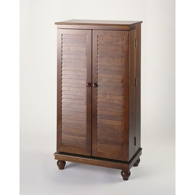 Multimedia Storage Cabinet Finish: Merlot