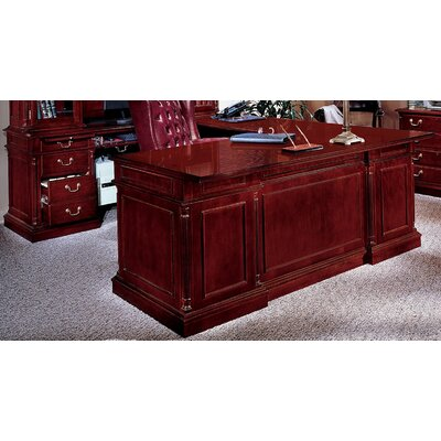 L Shape Executive Desk Center Drawer Prestbury Product Image 284