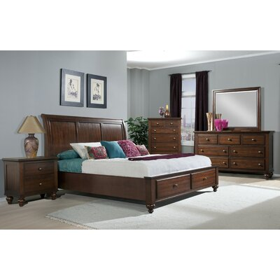 Verrett Platform Bed Size: King