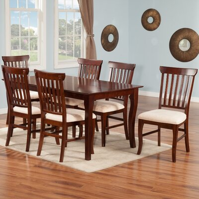 Newry 7 Piece Dining Set Finish: Antique Walnut