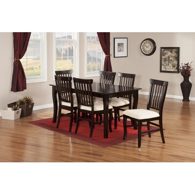 Newry 7 Piece Dining Set Finish: Espresso