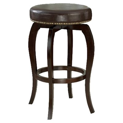 Windsor Lane 31.4 Swivel Bar Stool Upholstery: Brown