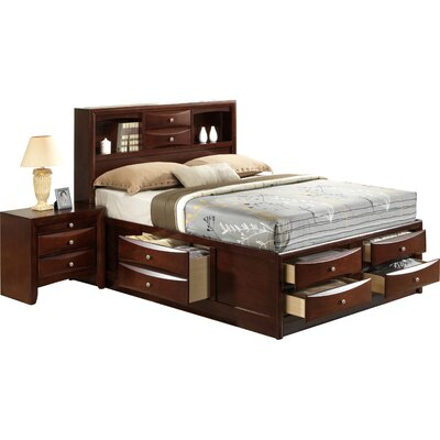 Benedict Storage Panel Bed Size: King